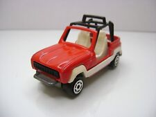 Diecast  Majorette Renault JP4 No. 252 in Red Good Condition