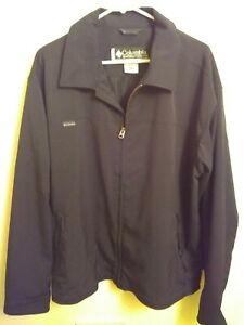 Columbia RN69724 Men's Jacket Size XL Black non-insulated Great Condition