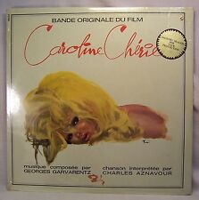 Georges Garvarentz/Charles Aznavour CAROLINE CHERIE French Soundtrack LP SEALED
