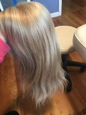 Custom Made 100 % Human European Hair Wig Small