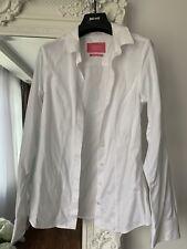 Charles Tyrwhitt Women Fitted White Shirt Size UK 6
