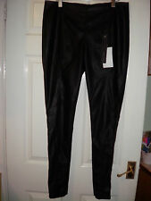 Crafted PU Leggings Sex Pistol  BNWT RRP £32  Size 16