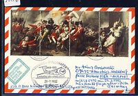 58276) LH FF München - Pisa Italien 29.3.92, Karte ab Jersey ZD war uniform