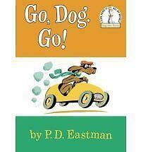 Go, Dog. Go! HC Very Good, Kohls, Seuss Beg Bk, PD Eastman,Buy 3=Free Ship