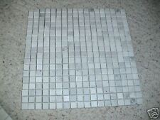 """MARBLE Carrera 5/8""""x5/8"""" MOSAIC POLISHED  OR  HONED TILE"""