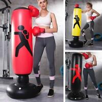 Aufblasbare Box Boxsack Column Tumbler Sandsäcke Kick Martial Training