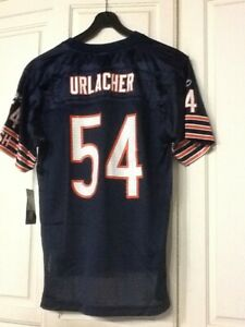 Reebok Chicago Bears Brian Urlacher Jersey Kids XL Youth Boys Blue Orange NFL