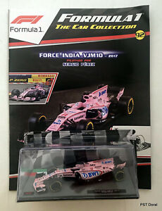 Force India VJM 10 (2017) Sergio Pérez Diecast 1:43 F1 Collection New Sealed