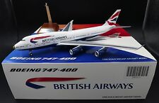 "British Airways Boeing 747-400 ""victoRIOus"" G-CIVA JC Wings 1:200 Diecast XX2415"