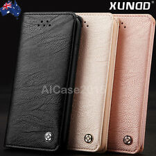 Genuine XUNDD NEW Leather Wallet Card Holder Case Cover f iPhone X 8 6 6s 7 Plus