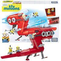 New Mega Bloks Despicible Me Kids Childrens Minion Supervillain Jet Toy CNF60