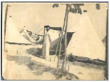 France, Louis au Camp de Sissonne  Vintage silver print. Armée française Le ca