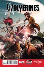 Wolverines # 8 NM Marvel (2015)
