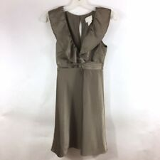 $148 J.Crew Spaghetti-strap foldover dress in satin-back crepe-J8024-various szs