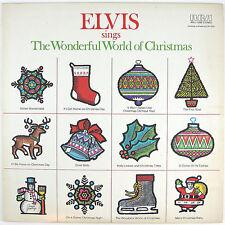 ELVIS PRESLEY Elvis Sings The Wonderful World Of Christmas LP NM- NM-