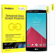 Pasbuy 2pack SuperThin Premium Tempered Glass Screen Protector for LG Stylus 2