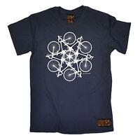 Kaleidospoke MENS RLTW T-SHIRT tee cycling cycle bicycle birthday fashion gift