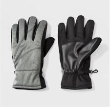 NEW Men's Windproof Softshell Gloves - C9 Champion® - Light Gray [Size M / L]