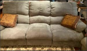 couch set including loveseat and three se