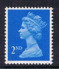 GB QEII SG 1451aeb. 2nd Blu Brillante LB LITHO questa. P. Machin definitive. 1993