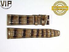 NEW OEM Authentic IWC SANTONI strap 22 mm alligator IWA67775 GRAY
