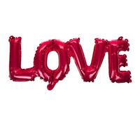 Red Foil LOVE Balloon Inflatable Wedding Engagement Hen Night Party Decoration