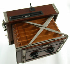 CONTESSA NETTEL Deckrullo Stereo Tropen 13x18 antique wooden Duotar TOP beauty