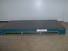 CISCO WS-C2950-24 NETWORK SWITCH 2950 WITH 24 10/100 PORTS NO UPLINK