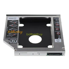 12.7mm 2nd SATA HDD Hard Disk Drive Tray Caddy Bay for HP IBM Lenovo Thinkpad