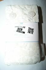 Simply Shabby Chic Floral Stitch Paisley Cotton KING Size PILLOWCASES New