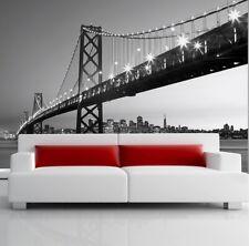 Papier Tapete Foto Wandbild Typ Riesige Wand Größe San Francisco Oakland Bay