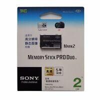 10 x 2GB 2G SONY Memory Stick PRO Duo Mark 2 MS-MT2G MagicGate Genuine Retail