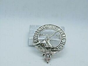 Vintage Scottish Clan MacMillan Pin Brooch Badge