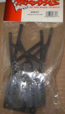 TRAXXAS 5837 FRONT + REAR SKIDPLATES BLACK  new nip