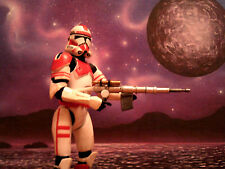 STAR WARS/CORUSCANT GUARD/CLONE SHOCK TROOPER METAL WEAPON MODEL KIT/TCW/ROTS