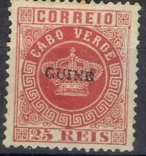 PORTUGAL ! Timbre ancien NEUF* Surchargé de GUINÉE de 1880 n°4