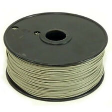 1000 Foot, 22 Gauge Stranded Hook Up Wire - Grey