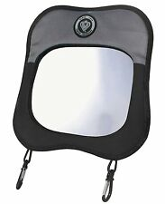 Prince Lionheart Child View Baby Rear Facing Car Seat Safety Mirror  Black/Grey