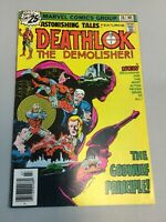Astonishing Tales 36 Deathlok Bronze Age Marvel Comics 1976