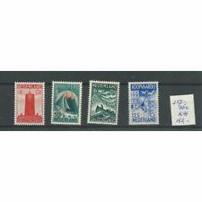 Nederland 257-260 Zeemanszegels MNH/postfris  CV  152 €