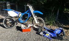 Yamaha yz125 wrecking/parting out. 02 model.