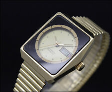New Old Stock RARE THERMIDOR golden vintage automatic watch NOS ETA 2879.     10