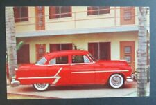 "Bill Shields Oldsmobile Super ""88"" 4-Door Sedan Ravenna Oh Advertising Postcard"