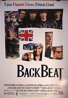 THE BEATLES STORY BACKBEAT MOVIE POSTER 27x40 STEPHEN DORFF IAN HART 1994