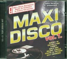 Maxi Disco Vol. 1 - Rocky M/David Lyme/Carrara/Fancy/Max Him/Silent Circle Cd Ex