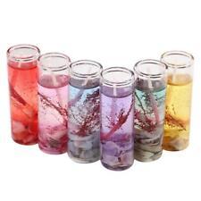 Glass Romantic Bottles Ocean Smokeless Jelly Wax Wedding Gel Candles. best