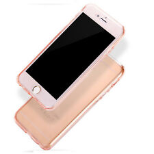 Shockproof 360° Silicone Protective Clear Case Cover For iPhone 4S 5S 6 6S 7Plus