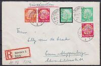 DR ZD W 46, S 106, 549 MiF auf R- Brief Konstanz - Essen 22.12.1934