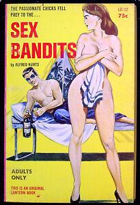 Sex bandits, Latern Book, Sleaze, Risque, GGA