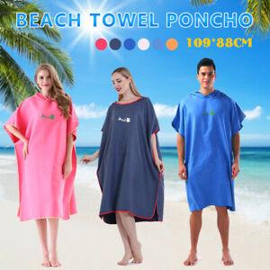Surfponcho Strandtuch Poncho Bademantel Poncho Handtuch Badeponcho DE
